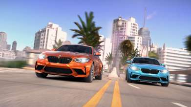 M Power meets mobile gaming: New BMW M2 Competition debuts