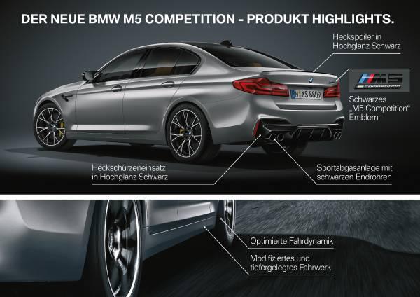 Der neue BMW M5 Competition (05/2018).