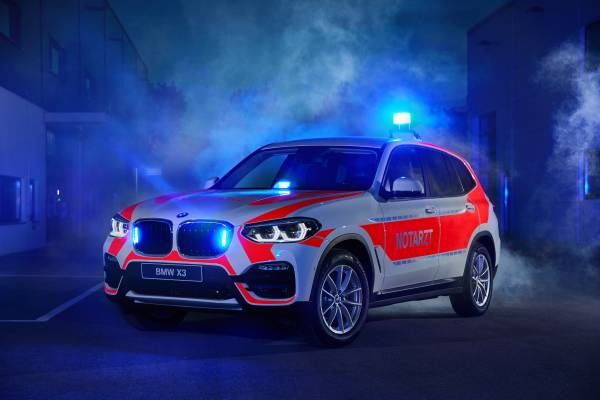 The BMW X3 xDrive20d for the emergency physician (05/2018).