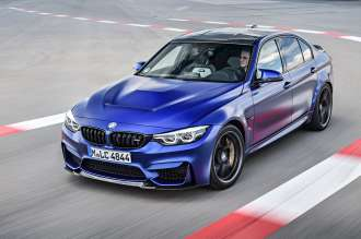 The new BMW M3 CS (05/2018).