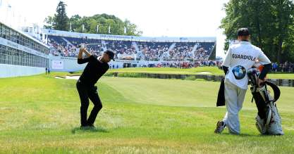 BMW PGA Championship Pro-Am: Pep Guardiola