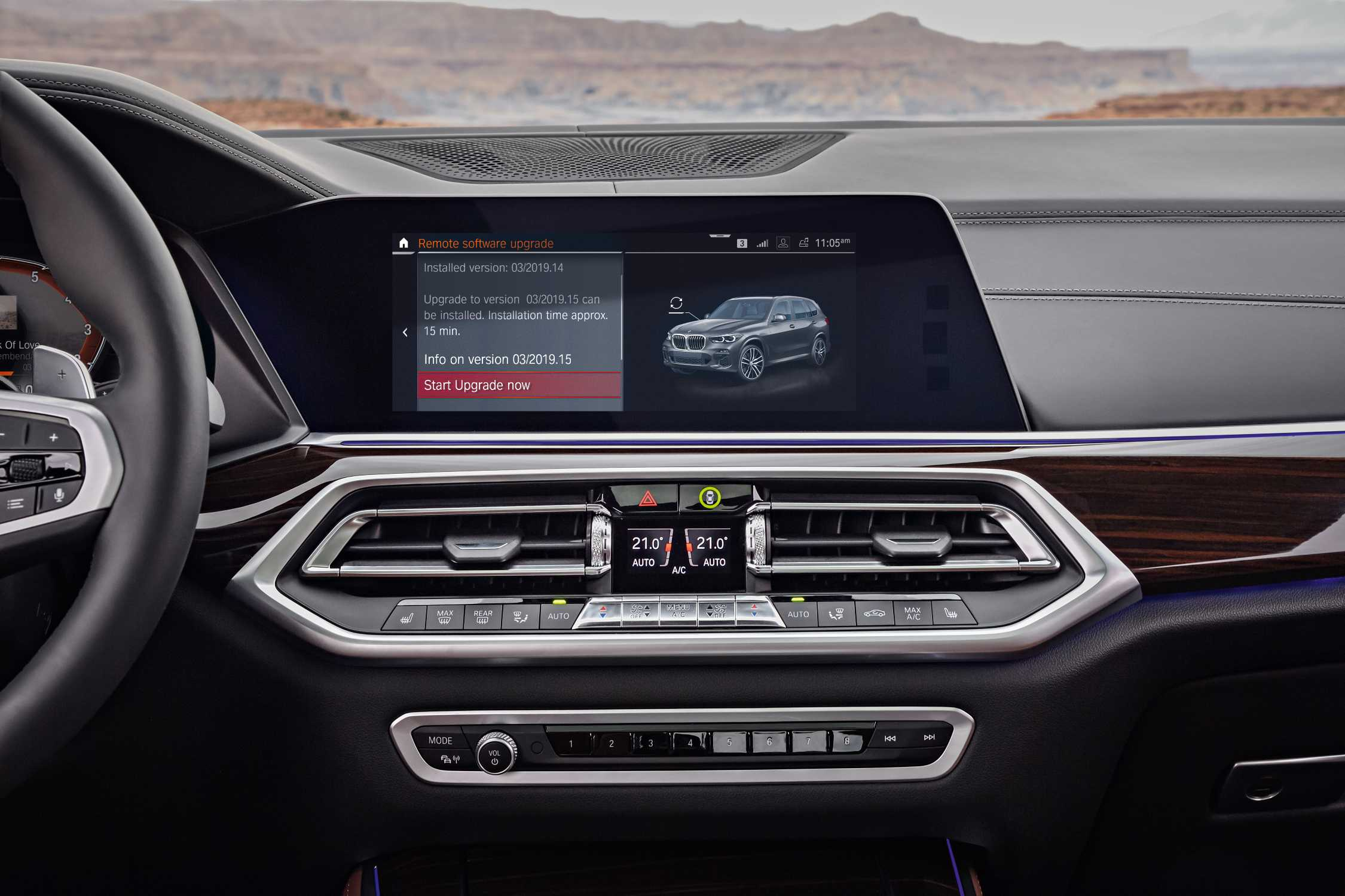 BMW Software Update >> The All New Bmw X5 Bmw Digital Services Remote Software