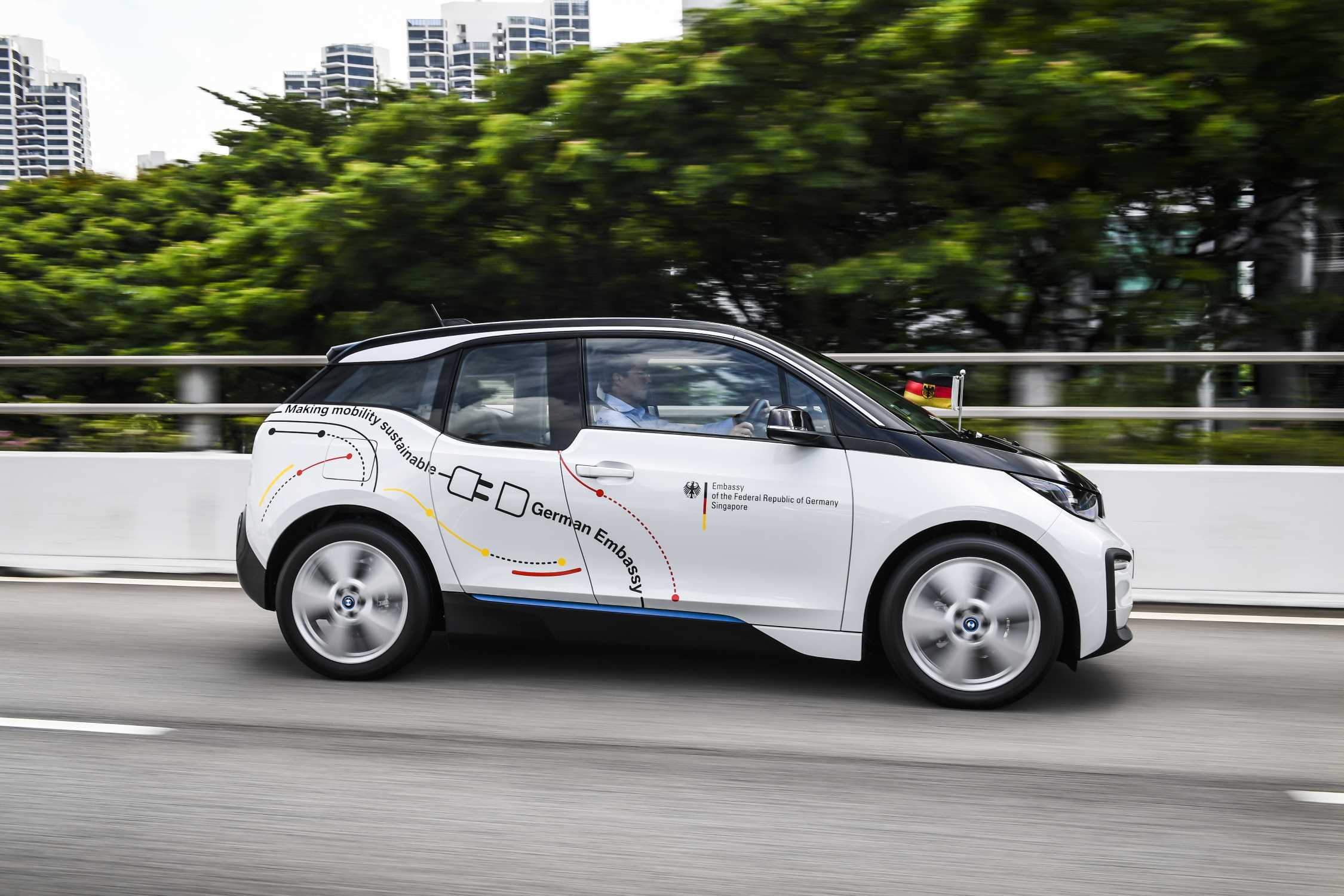 German Embassy In Singapore Is Making Mobility Sustainable With A