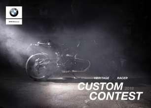 Custom Contest BMW Motorrad 2018. (06/2018)