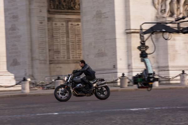 MISSION: IMPOSSIBLE – FALLOUT Tom Cruise on the set of MISSION: IMPOSSIBLE – FALLOUT from Paramount Pictures. Photo Credit: Chiabella James © 2018 Paramount Pictures. All rights reserved.
