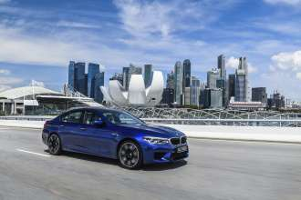 BMW M5 launch in Singapore (06/2018)