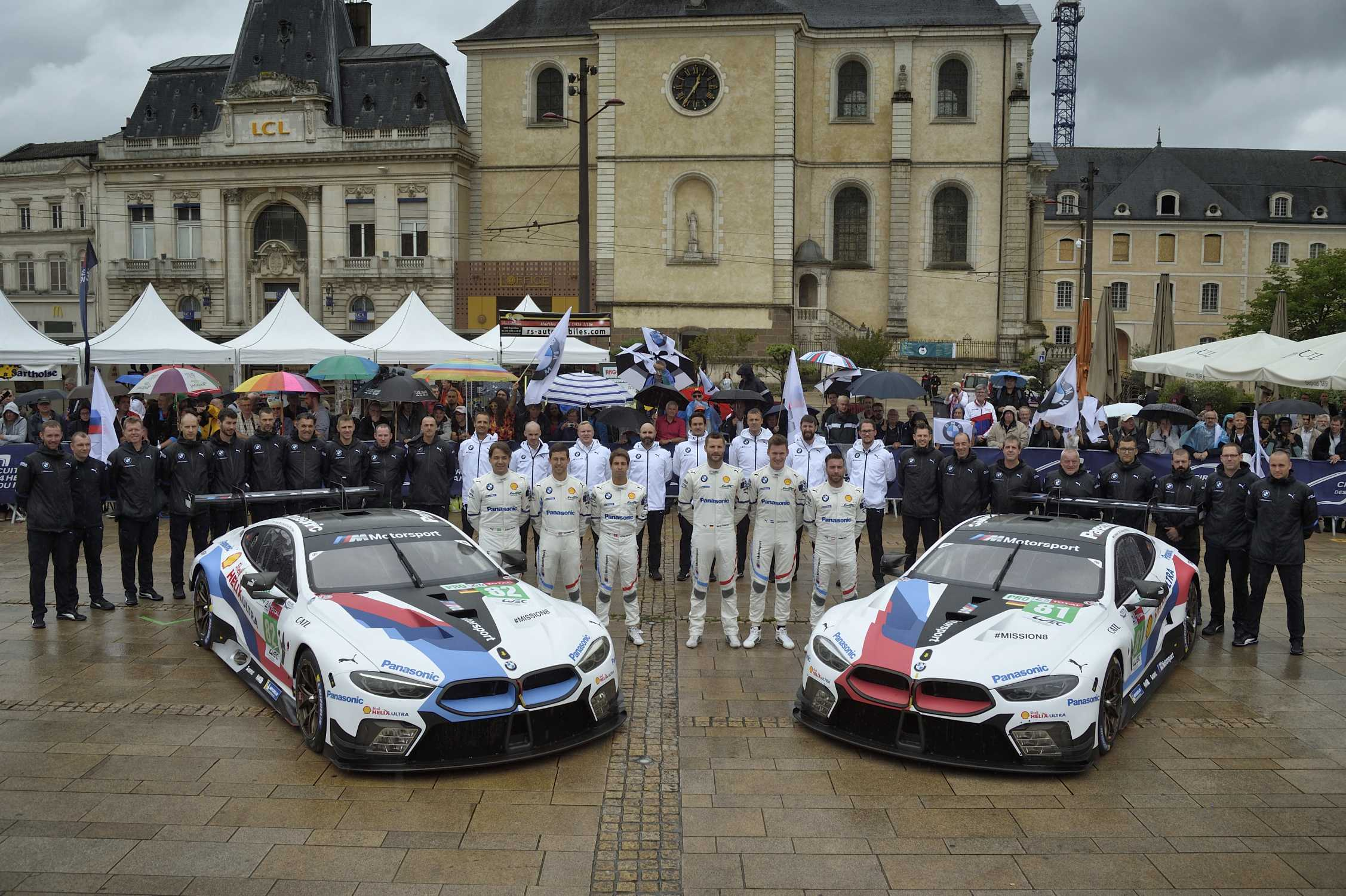 bmw m motorsport ready for le mans 24 hours return. Black Bedroom Furniture Sets. Home Design Ideas