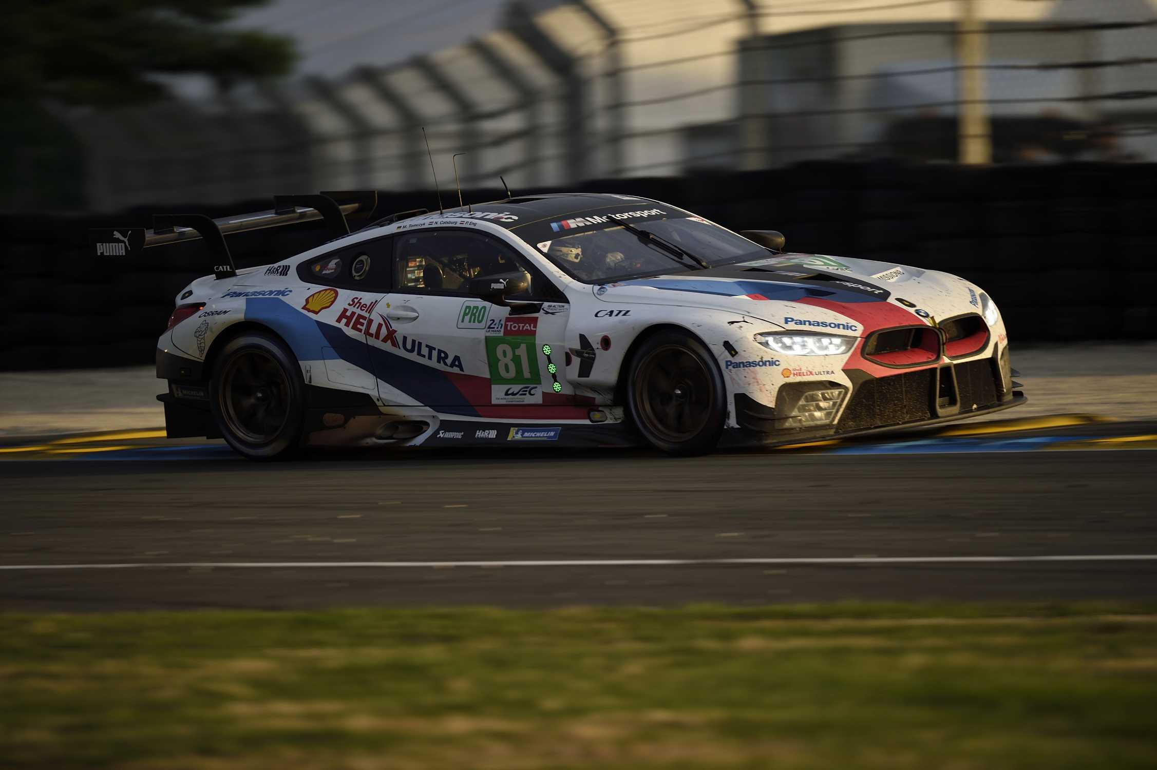 strong pace but no reward bmw m8 gte finishes 12th in its. Black Bedroom Furniture Sets. Home Design Ideas