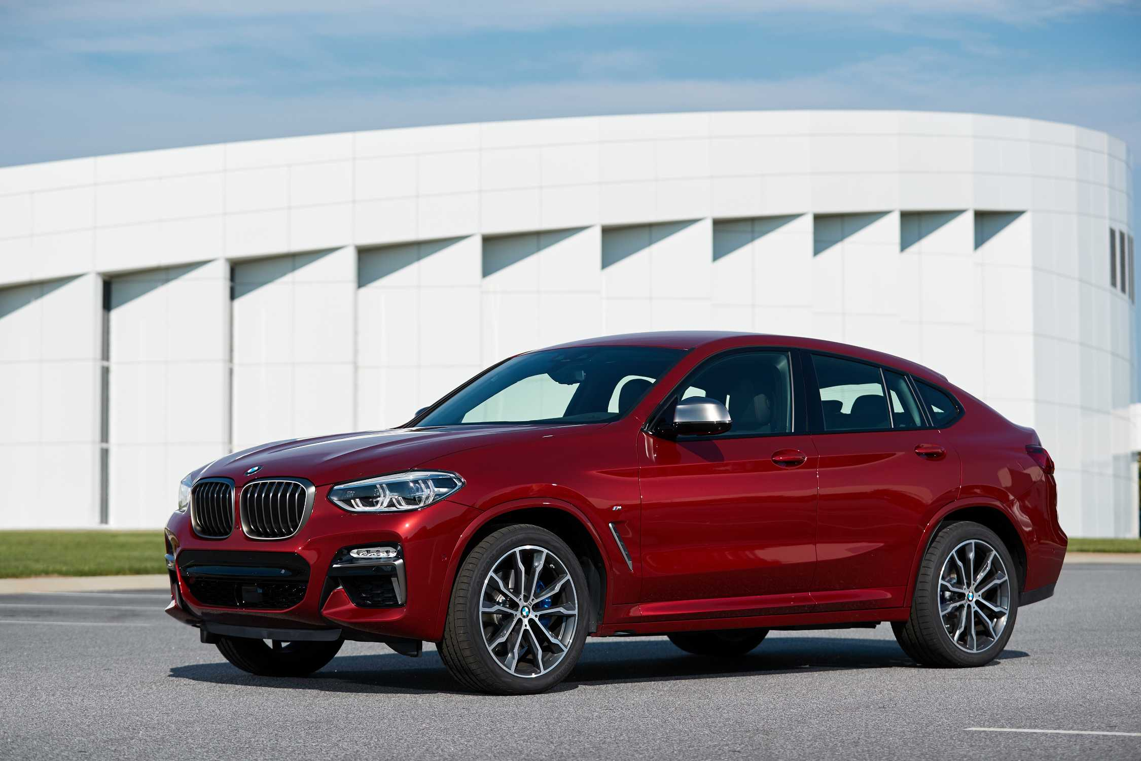 The new BMW X4 M40d (07/2018).