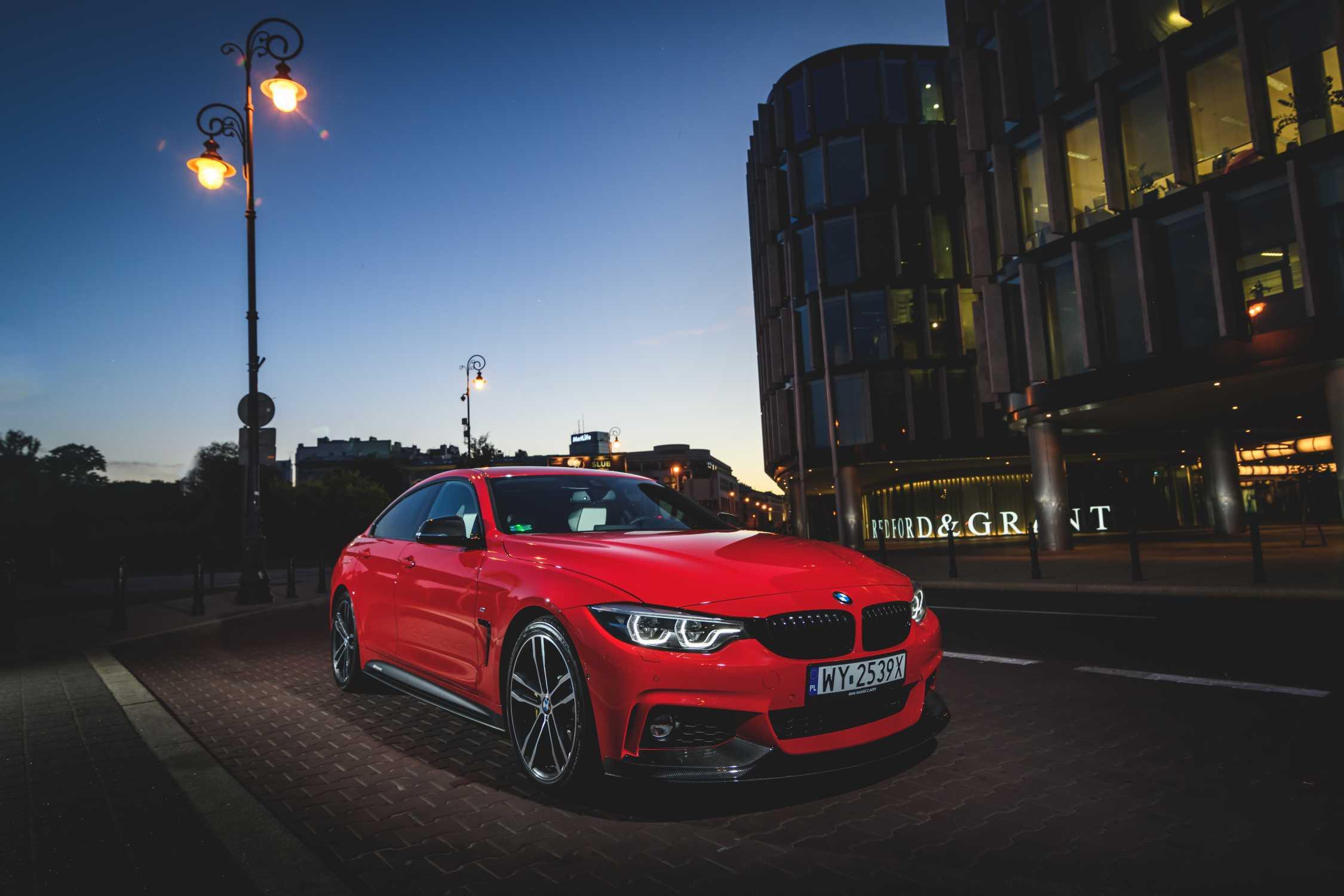 BMW serii 4 Gran Coupé z częściami M Performance dodatkowe zdjęcia