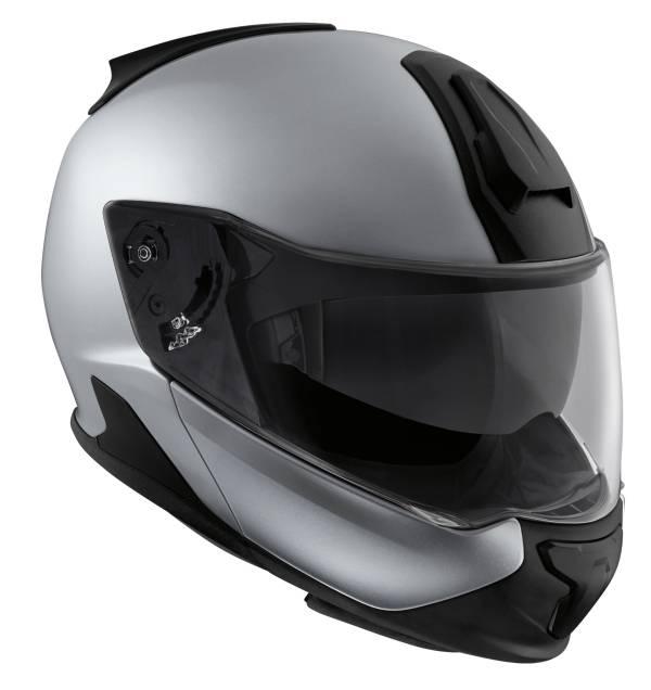 History of the BMW Motorrad rider equipment. BMW Motorrad System 7 Carbon helmet (2017). (07/2018)