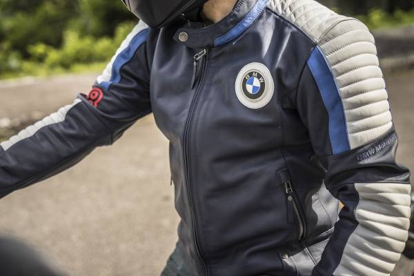 """BMW Motorrad """"40 Years Collection"""". """"40 Years"""" motorcycle jacket. (07/2018)"""
