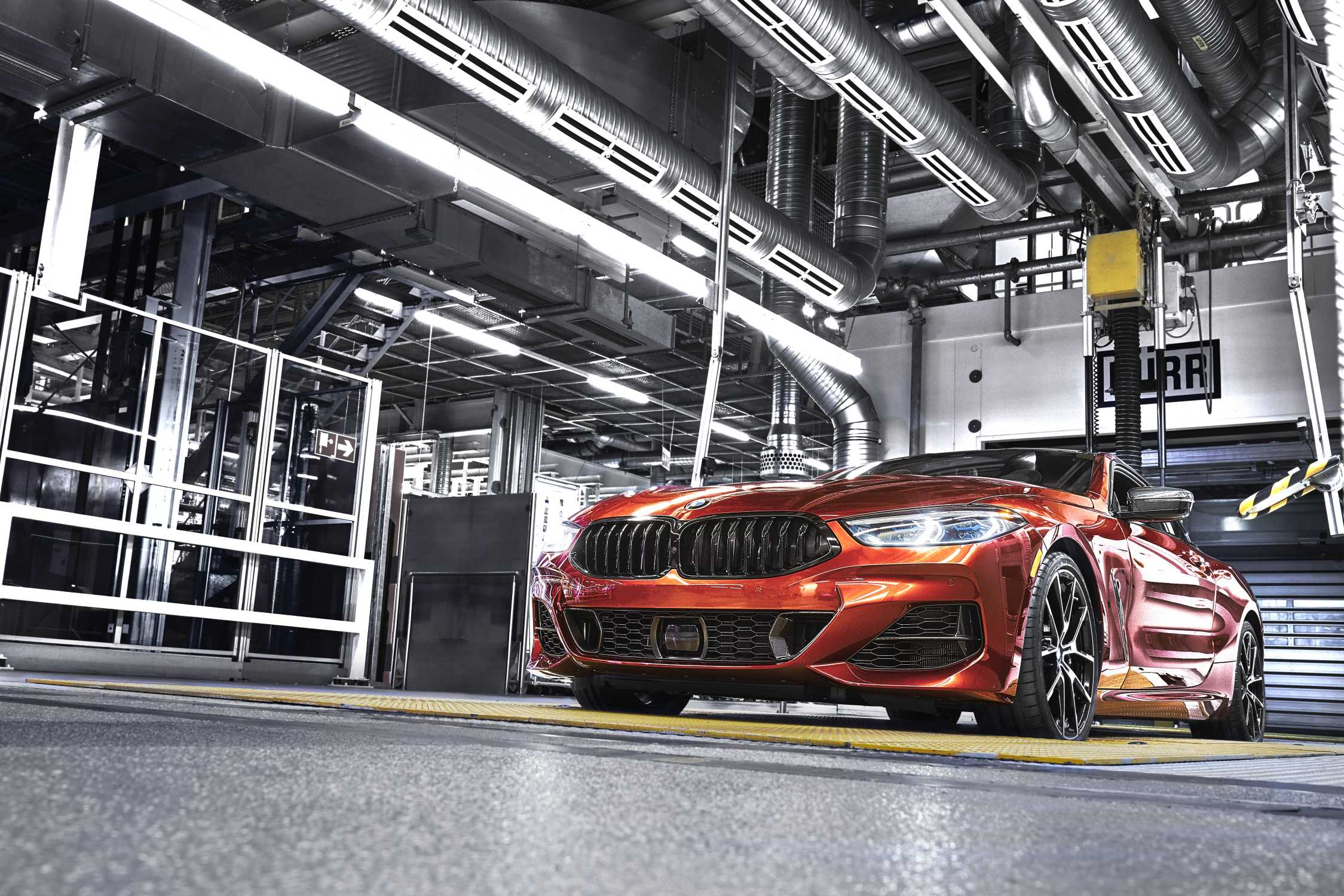 Start Of Production For New Bmw 8 Series Coupe At Bmw Group Plant