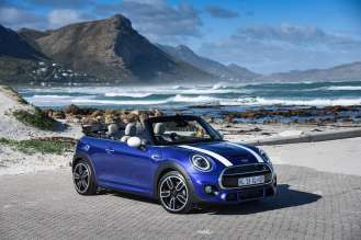 The new MINI Convertible now available in South Africa (07/2018)