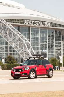 Three MINI Cooper S E Countryman ALL4 embark on Panamericana adventure.