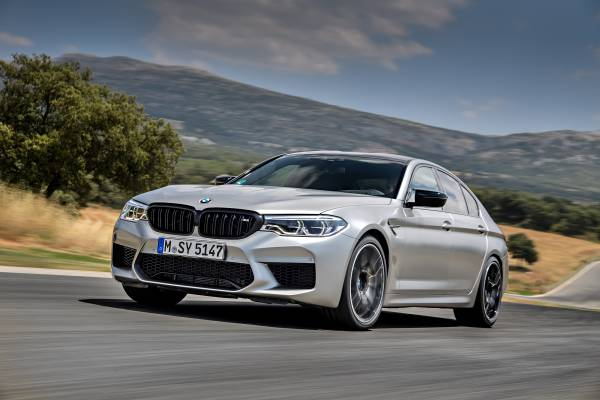 The new BMW M5 Competition in Ascari (07/2018).