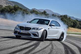 The new BMW M2 Competition in Ascari (07/2018).