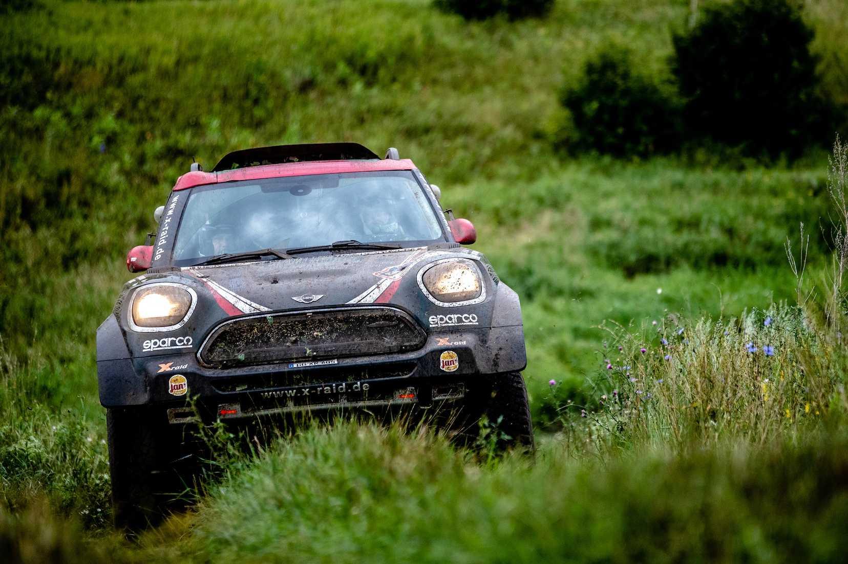 2018 Silk Way Rally Stage 7 Yazeed Al Rajhi Ksa Timo Gottschalk Ger Mini John Cooper Works X Raid Team 103 27 07
