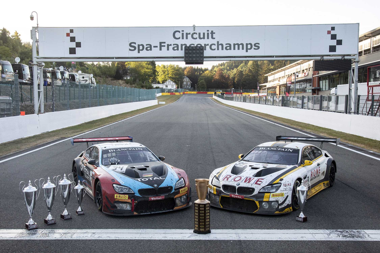 Double De Bmw Aux 24 Heures De Spa Francorchamps
