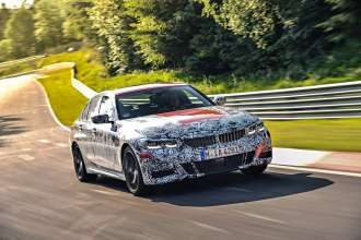 Testing at the Nürburgring - The all-new BMW 3 Series (08/2018).