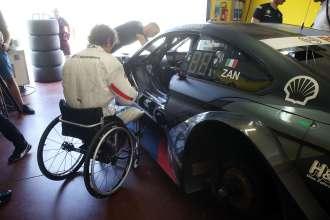 Vallelunga (ITA) 08th August 2018. BMW Motorsport, Testing, Alessandro Zanardi (ITA) BMW M4 DTM.