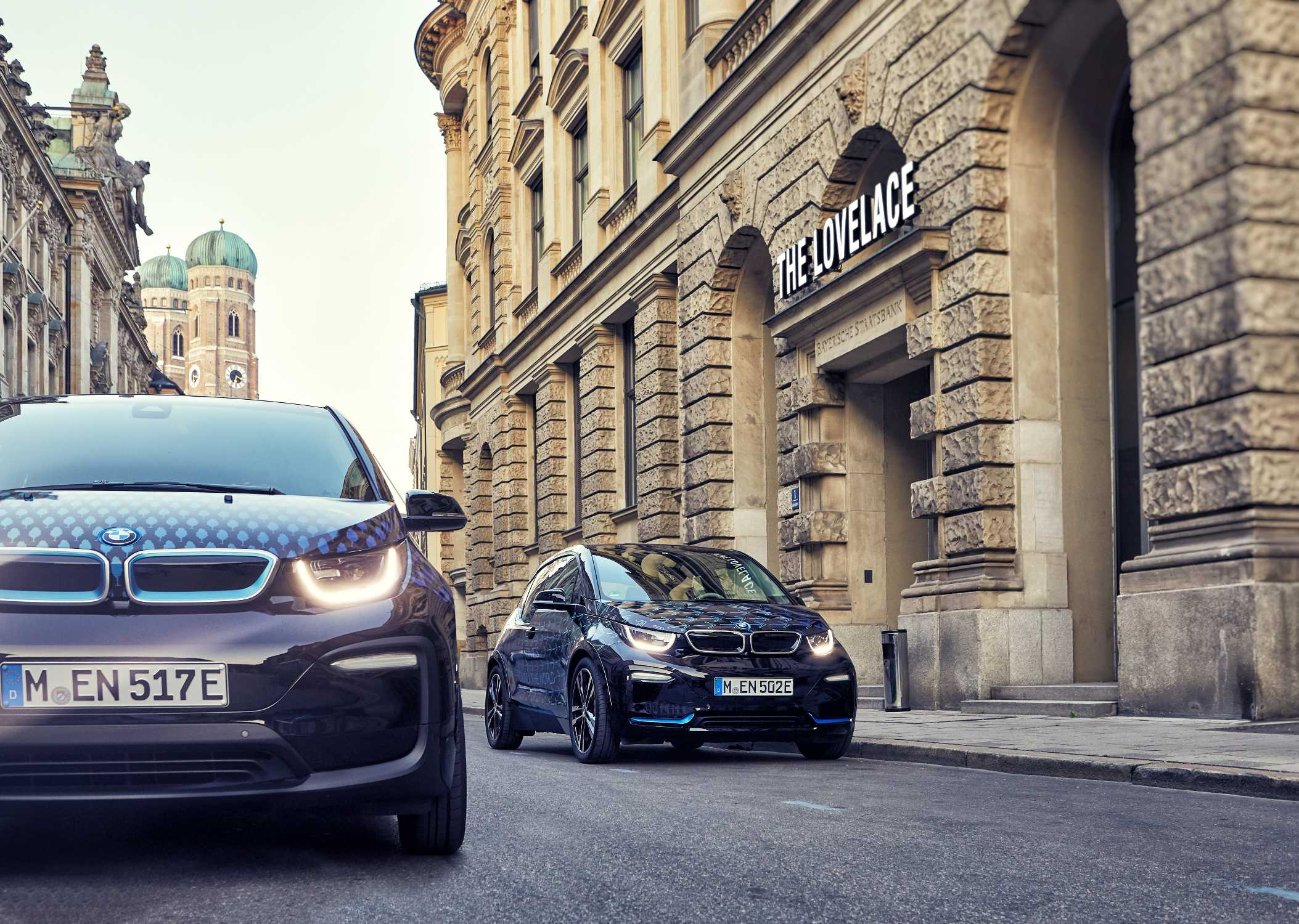 Bmw I Collaborates With The Munich Pop Up Hotel Lovelace I3 Vehicle Electrical System Control Units Location