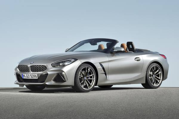 The new BMW Z4 Roadster (09/2018).