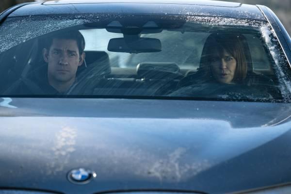 "The BMW 5 Series Sedan in ""Tom Clancy's Jack Ryan"" on Prime Video (Amazon). (08/2018)"