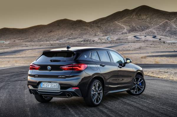 The new BMW X2 M35i. (09/2018)