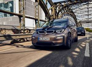 The BMW i3 (120 Ah) and the BMW i3s (120 Ah) (09/2018).