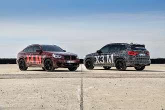BMW X3 M Prototype and BMW X4 M Prototype (09/2018).