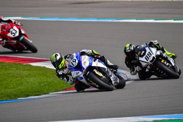 Another top-three lock-out for BMW riders in the IDM – more