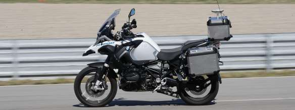 First automous riding R 1200 GS from BMW Motorrad