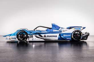 The new BMW iFE.18 for the ABB FIA Formula E Championship (09/18).