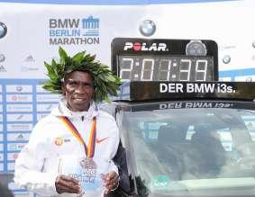 Eliud Kipchoge, BMW BERLIN-MARATHON