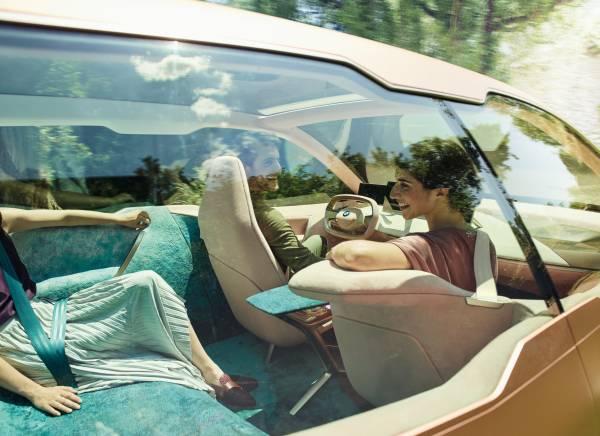 BMW Vision iNEXT - Interieur. (09/2018)