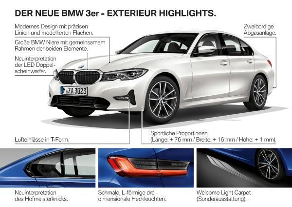 Die neue BMW 3er Limousine - Produkthighlights (10/2018).