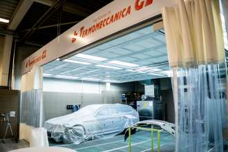New paintshop in Synot Auto dealership in Zlín, Czech republic (09/2018)