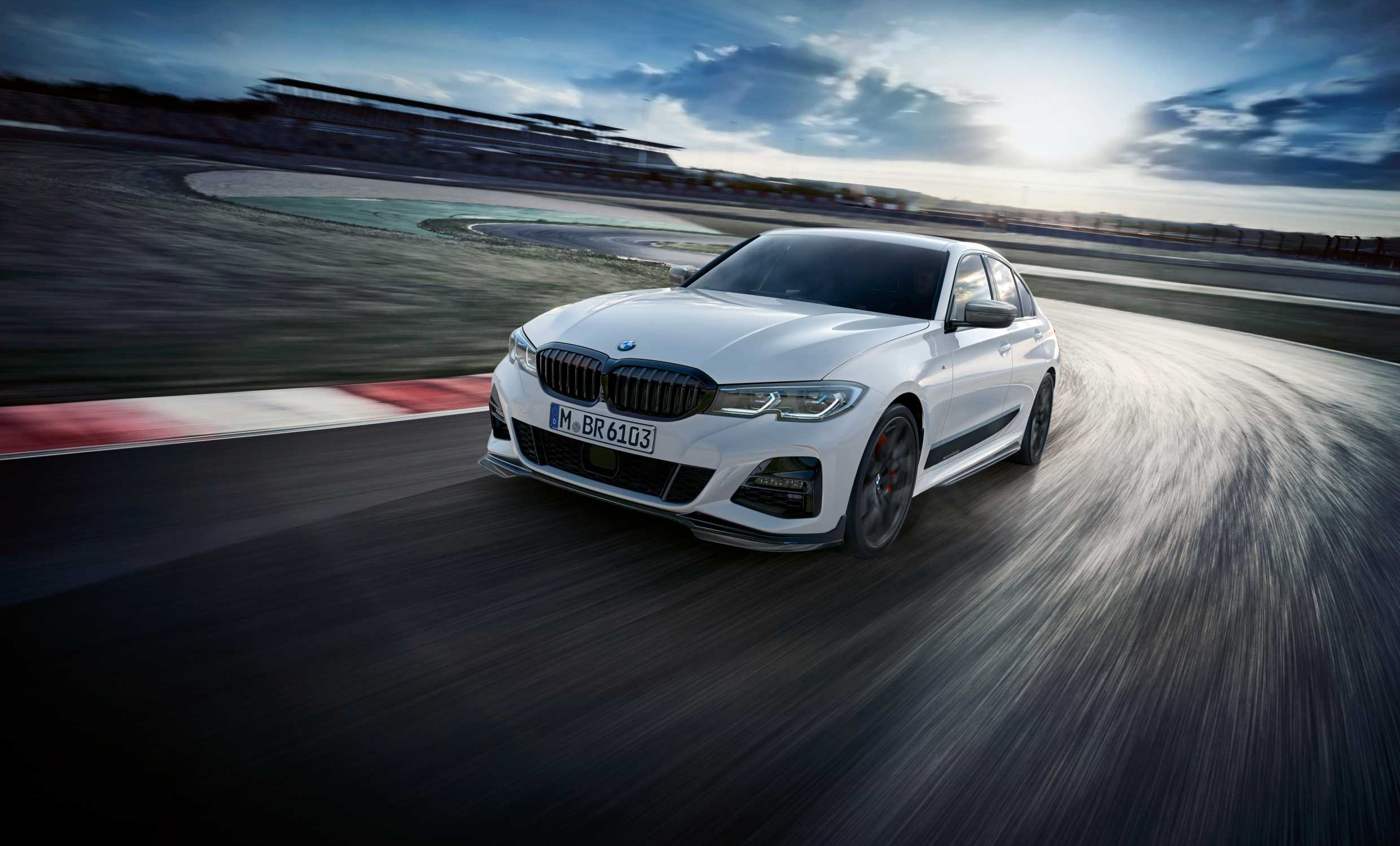 Bmw M Performance Parts For The New Bmw 3 Series