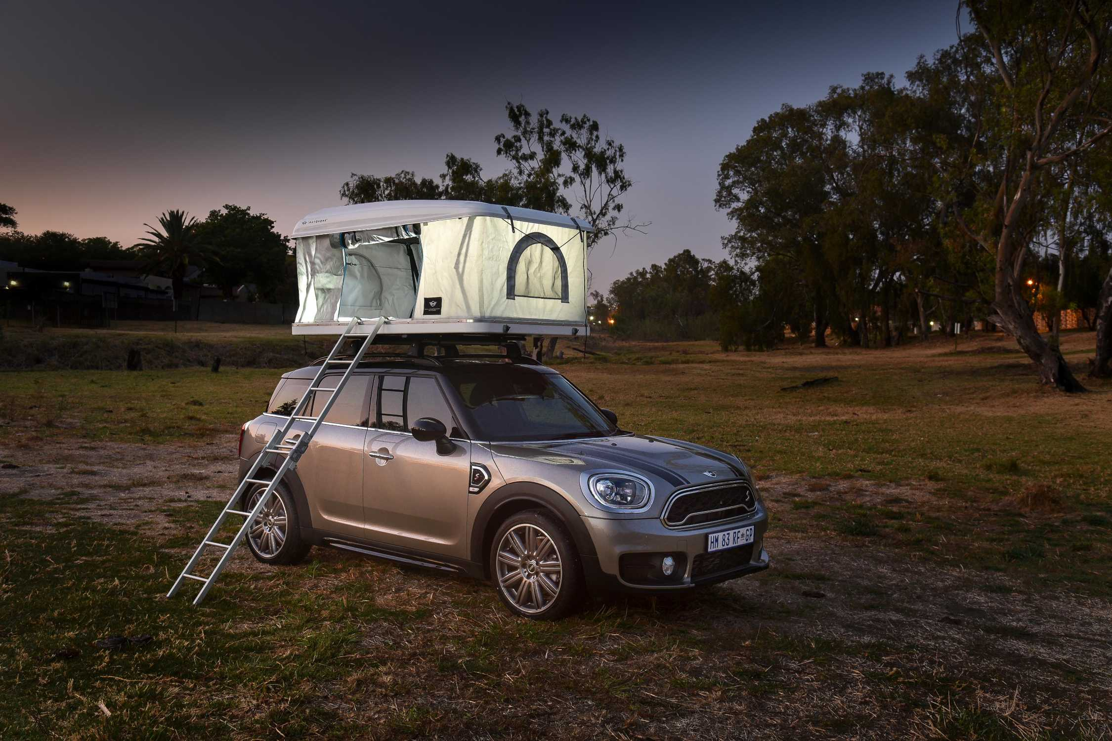 Aim High The Autohome Roof Tent For The Mini Countryman Makes A