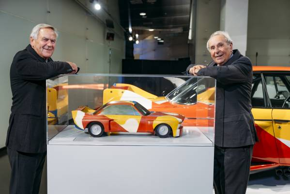 """Special exhibition at the BMW Museum """"BMW Art Cars 