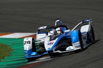 Valencia (ESP), BMW i Motorsport, ABB FIA Formula E Championship, Testing, BMW i Andretti Motorsport, BMW iFE.18, António Félix da Costa (POR).