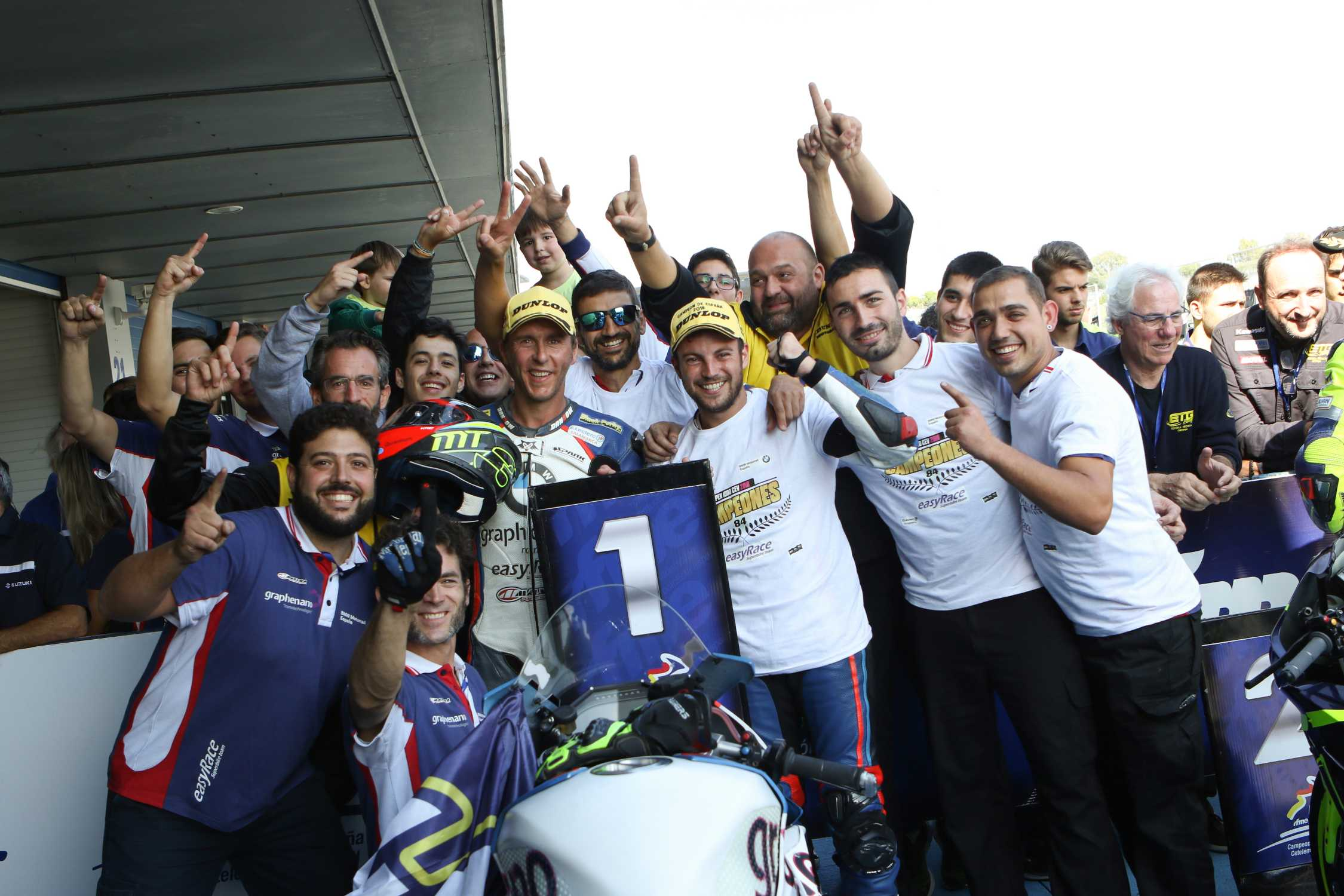 Successful title defence bmw racer carmelo morales for World wide motors carmel