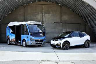 """BMW i3 engine and battery now also powering the fully-electric """"Karsan Jest"""" City-Bus."""