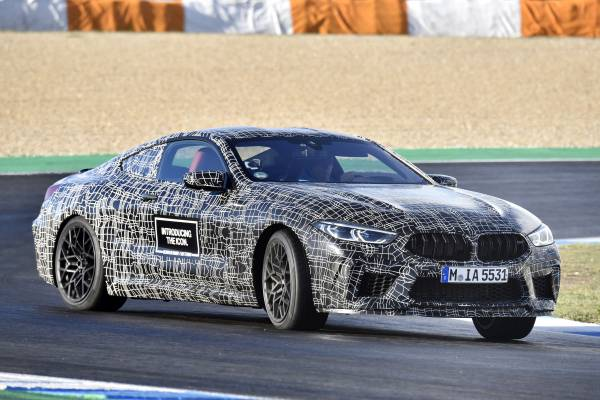 The new BMW M8 Coupe (11/2018).