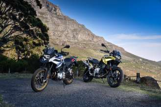 The national media launch of the new BMW F 750 GS and the new F BMW 850 GS (11/2018)