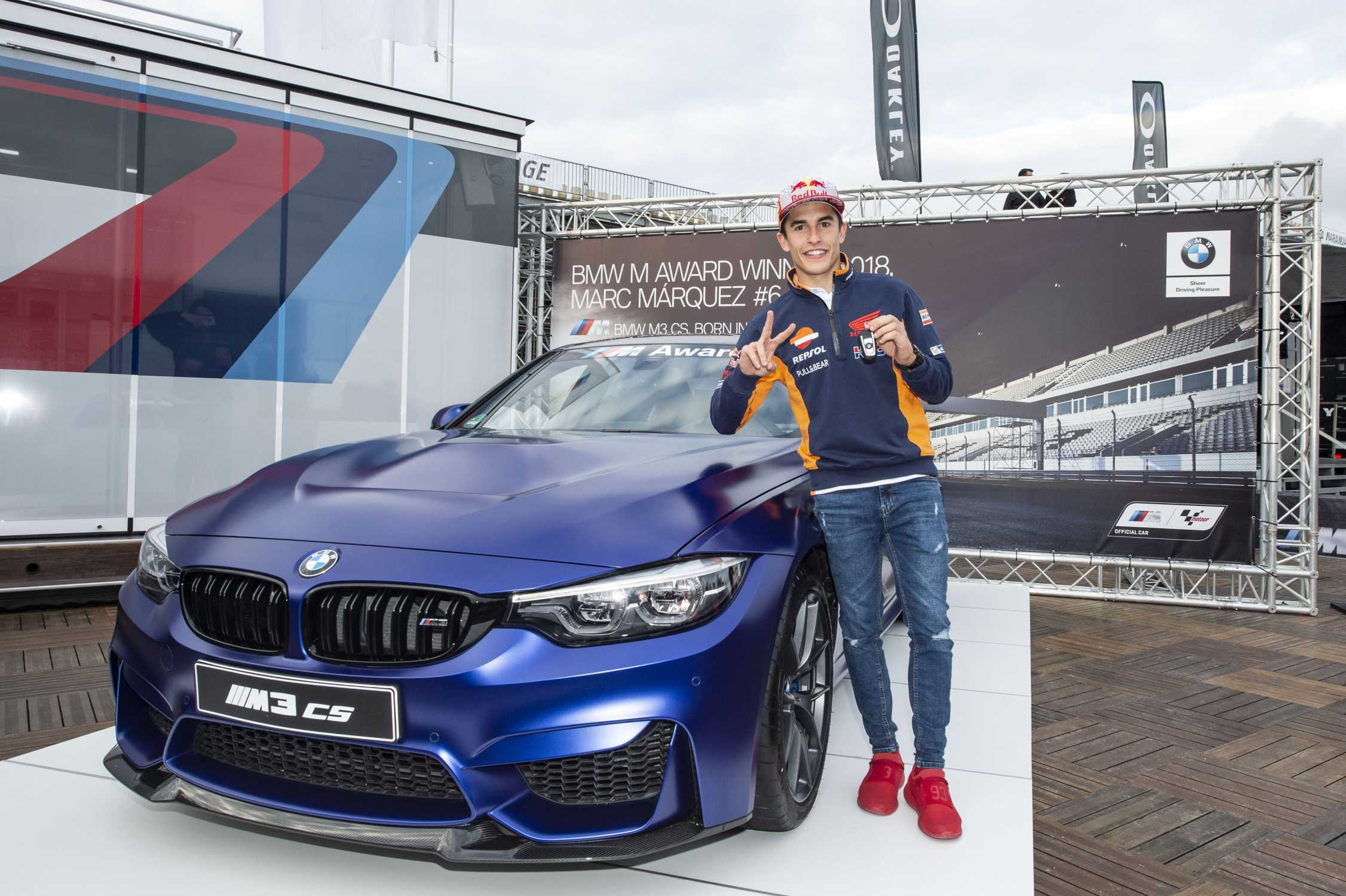 Marc Márquez Extends Record Winning Sequence In The Bmw M Award