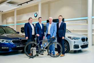 BMW to become the new Official Car Partner of Deceuninck-Quickstep Floors. (11/2018)