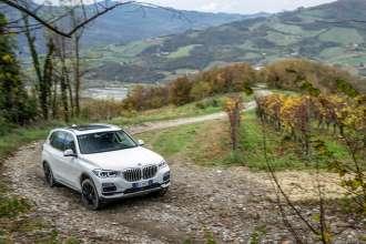 New BMW X5 test drive Rivalta dynamics (11/2018)
