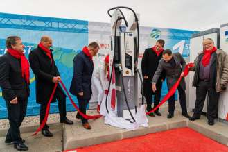 Project Next-E: 1st Ultra Fast Charger in Slovakia (11/2018)